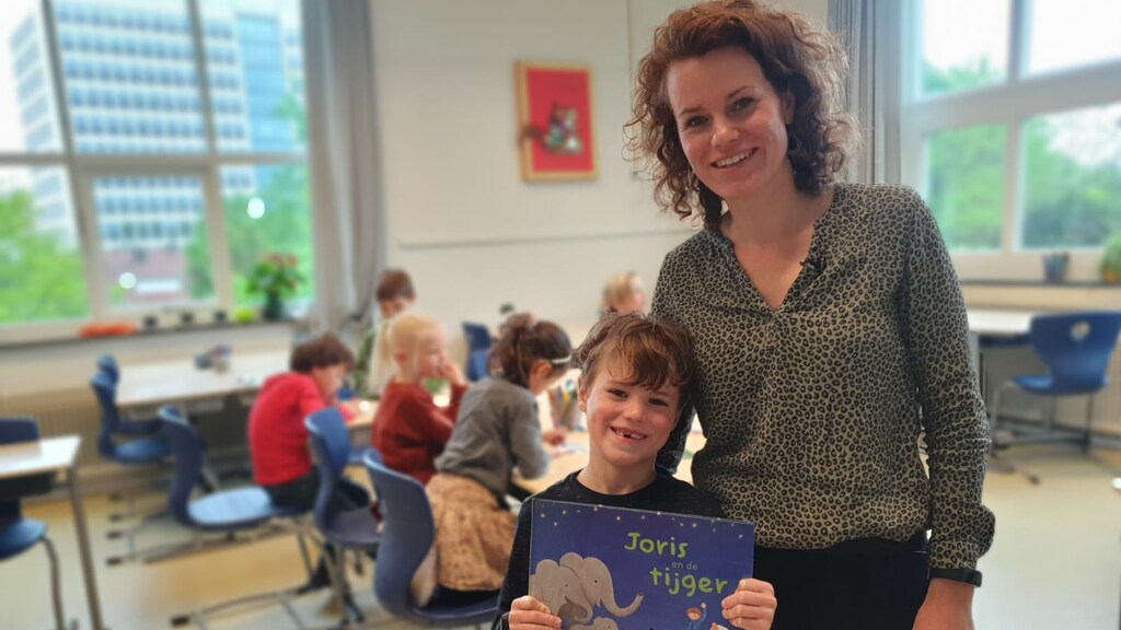 Jolien and her son